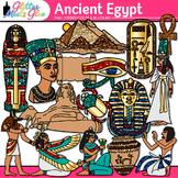Ancient Egypt Clip Art   Civilization and Culture Along the Nile River