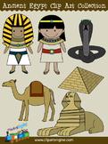 Ancient Egypt Clip Art Collection