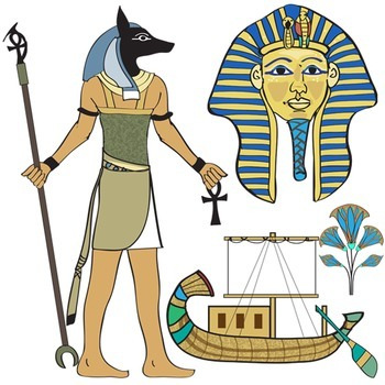 Ancient Egypt Clip Art - Egyptian History