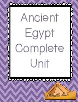 Ancient Egypt Complete Unit Bundle