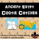 Ancient Egypt Cootie Catcher
