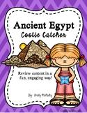Ancient Egypt Cootie Catcher (Fortune Teller)