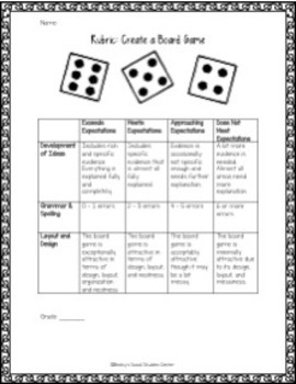 Ancient Egypt: Create a Board Game - A Fun Group Project!