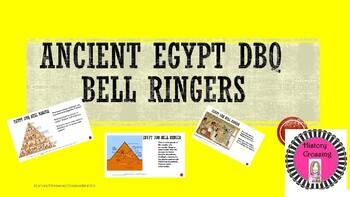 Ancient Egypt DBQ Bell Ringers
