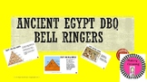 Ancient Egypt DBQ Bell Ringers