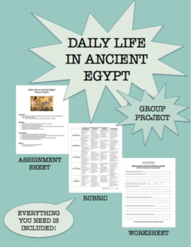 Ancient Egypt Daily Life Group Project