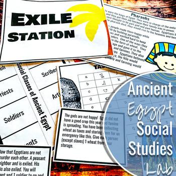 Ancient Egypt Daily Life Social Studies Lab