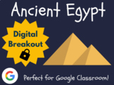 Ancient Egypt - Digital Breakout! (Escape Room, Scavenger Hunt)