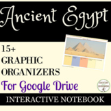 Ancient Egypt Digital Interactive Notebook Graphic Organiz