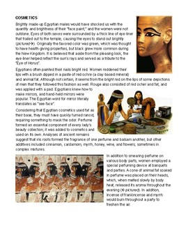 Ancient Egypt: Dress and Fashion