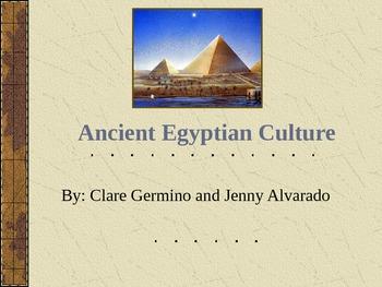 Ancient Egypt ELLs