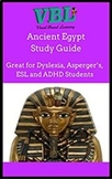 Ancient Egypt ESL /Spanish/Distant Learning/ Study Guides