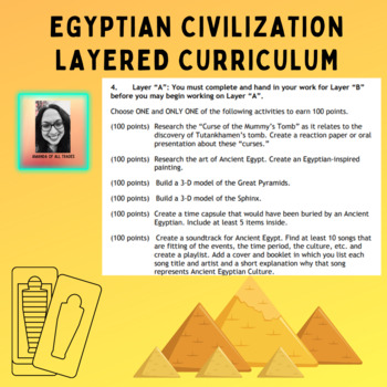 Ancient Egypt Layered Curriculum