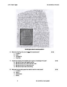 Ancient Egypt Exam