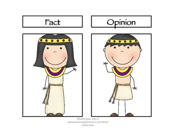 Fact and Opinion Pack--Ancient Egypt Edition