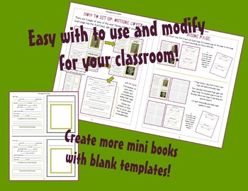 Ancient Egypt: Famous Pharaoh Mini Book Activity