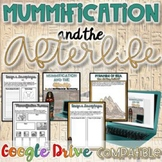 Mummification and the Afterlife {Digital AND Paper} Distance Learning