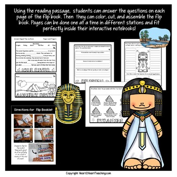 Ancient Civilizations: A Mini-Unit & Flip Book All About Ancient Egypt