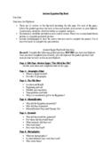 Ancient Egypt Flipbook Project *Editable*