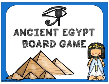 Ancient Egypt Game (File Folder Board Game)