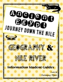 Ancient Egypt Geography & Nile River Student Information Guides