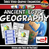 Ancient Egypt Geography YouTube Video Graphic Organizer Se
