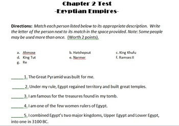 Ancient Egypt, Glencoe World History Journey Across Time: The Early Years, Ch 2