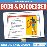 Ancient Egyptian Gods and Goddesses Boom Cards • Distance