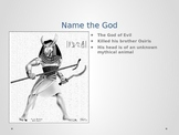 Ancient Egypt Gods and Goddesses Power Point/Review Game