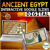 Ancient Egypt Google Classroom Distance Learning | Interac