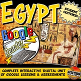 Ancient Egypt Google Classroom Activities & Complete Unit Lesson Plan 5-8