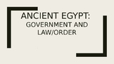 Ancient Egypt - Government, Law and Order