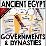 Ancient Egypt - Governments and Dynasties