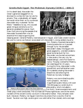 Ancient Egypt: Greece Rules Egypt - Cleopatra and the Ptolemaic Dynasty