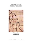Ancient Egypt Guided Reading, Group Readers or Readers Theater