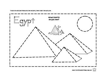 Ancient Egypt Handwriting Packet