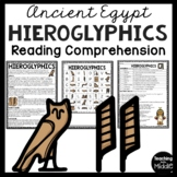 Ancient Egypt Hieroglyphics, Ancient Civilizations, writing