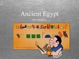Ancient Egypt Hieroglyphics
