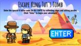 Ancient Egypt Hieroglyphics Virtual Escape Room - King Tut's Tomb Interactive