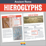 Ancient Egypt - Hieroglyphs