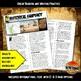 Ancient Egypt Historical Snapshot Close Reading Investigation