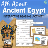 Ancient Egypt Interactive Reading Comprehension Book