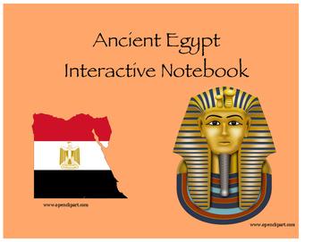 Ancient Egypt Interactive Noebook