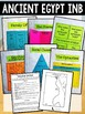 Ancient Egypt Interactive Notebook Graphic Organizers