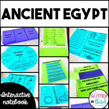 Ancient Egypt Social Studies Interactive Notebook