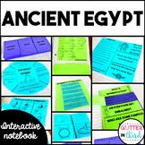 Ancient Egypt Social Studies Interactive Notebook