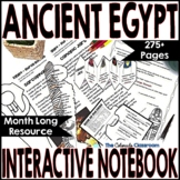 Ancient Egypt Interactive Notebook Bundle