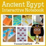 Ancient Egypt Interactive Notebook with Scaffolded Notes