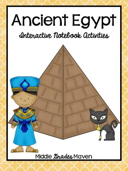 Ancient Egypt-Interactive Notebook Activities
