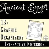 Ancient Egypt Interactive Notebook Graphic Organizers for